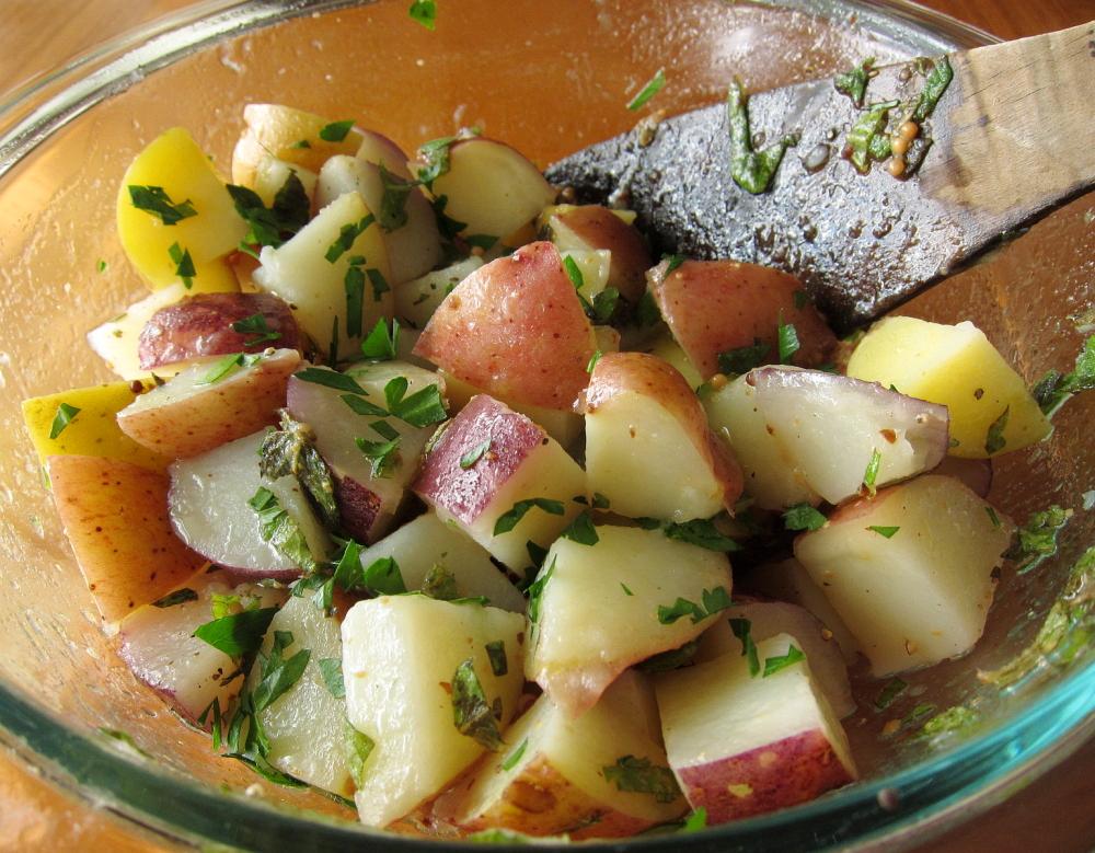 Potato Salad Recipe Olive Oil Lemon Juice