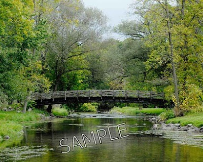 Cedarburg Wisconsin Bridge by Jeanne Selep Imaging