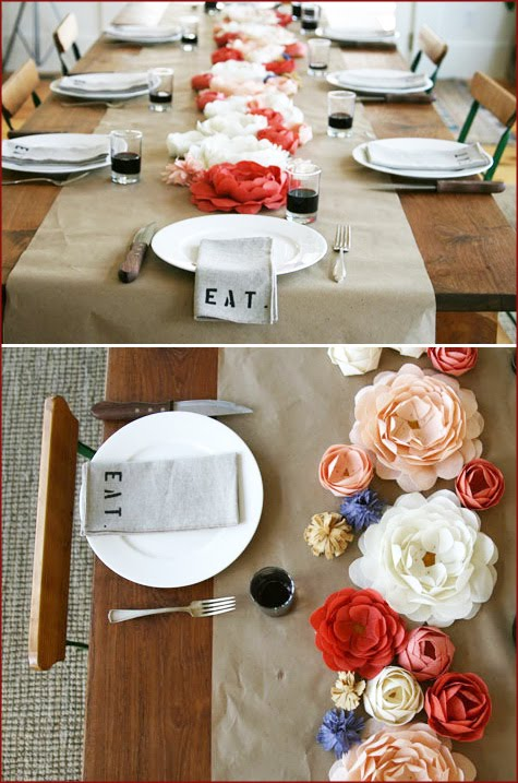 Hayfield House: DIY Table Linens