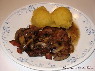 La cuisine en f te de sakya janvier 2008 - Foie de veau vinaigre balsamique ...