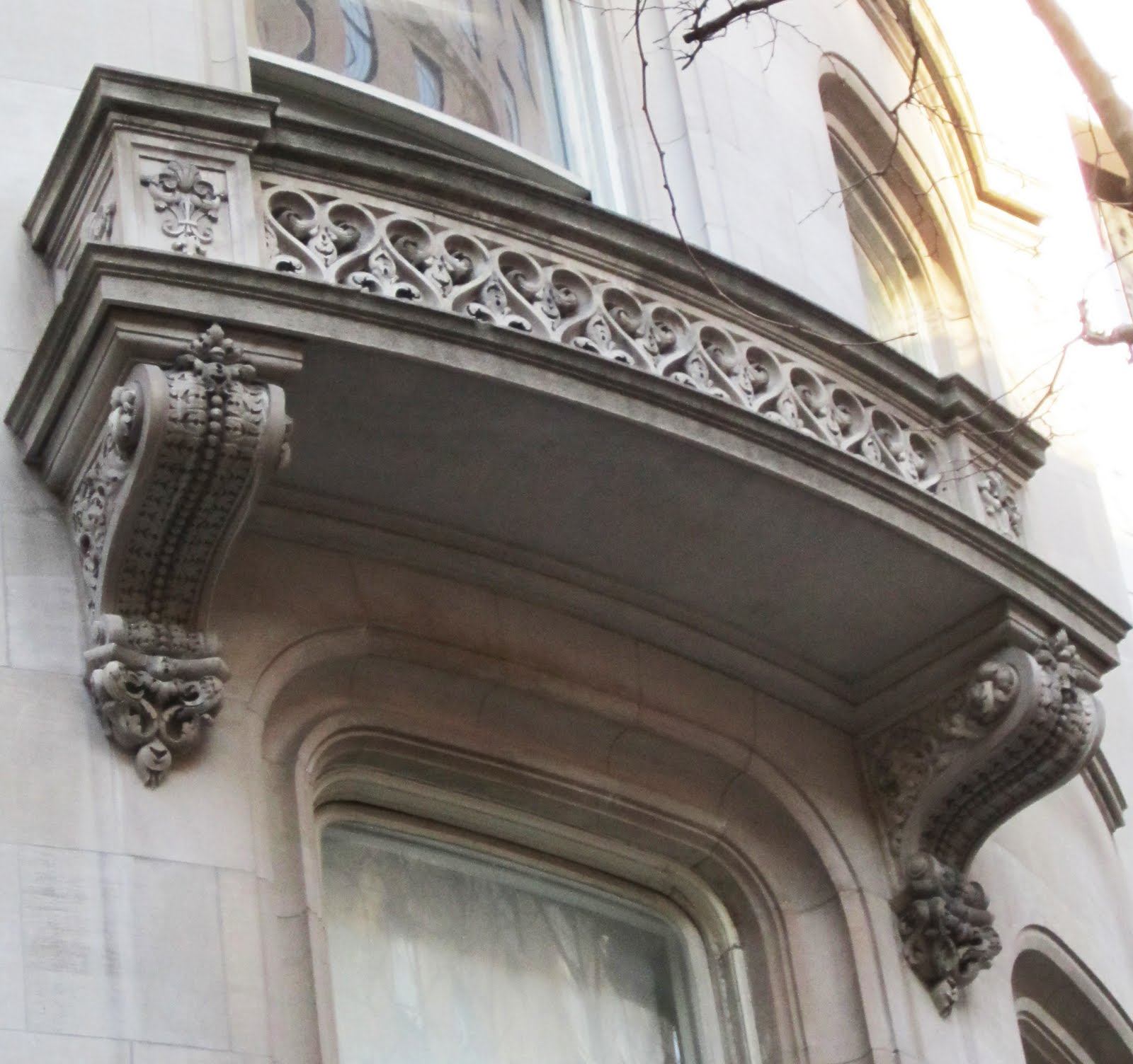 BIG OLD HOUSES: Brackets And Balconies