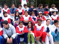 Participamos de la semana del corazón en el Prado Piedra Alta junto a las escuelas 1,4 y 76