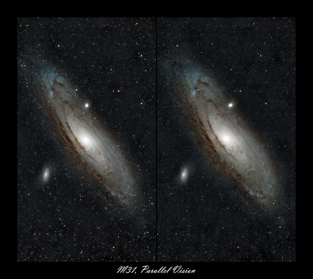 Astro Anarchy M31 As A Stereo Pair