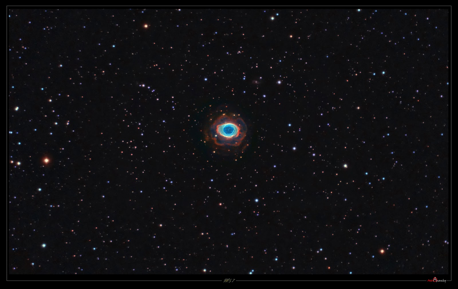 "Astro Anarchy: M57, the ""Ring Nebula"", project finalized"