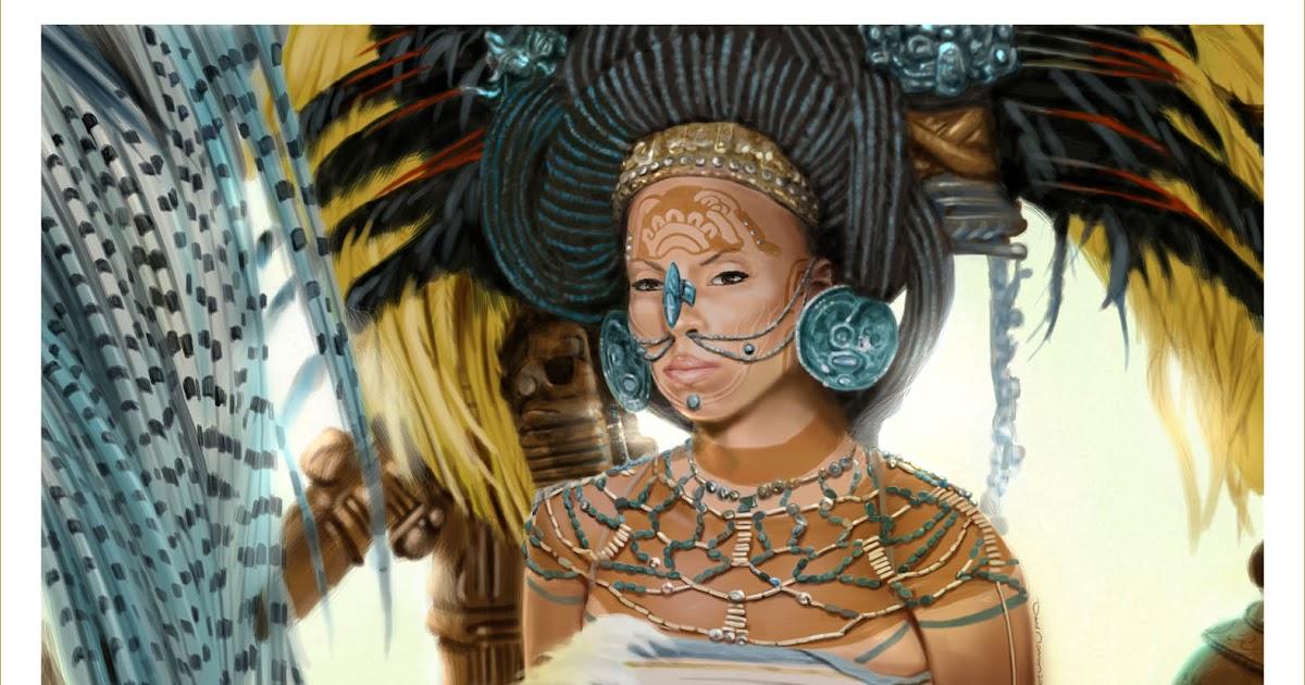 Ancient Mayan Princess