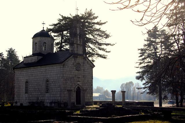 Дворцовая церковь, Цетине