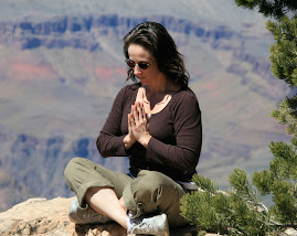 Meditating in the Grand Canyon