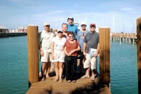 Fort Lauderdale to Bahamas Sailing Trip: Group Shot at Bonefish Folley's