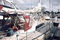 Fort Lauderdale to Bahamas Sailing Trip: Quetzal at the Bahia Mar Marina