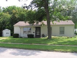 Lichty family's first real house at 2103 Hollywood Boulevard in Iowa City, Iowa
