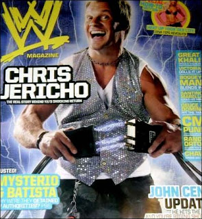 Chris Jericho WWE magazine leaked cover