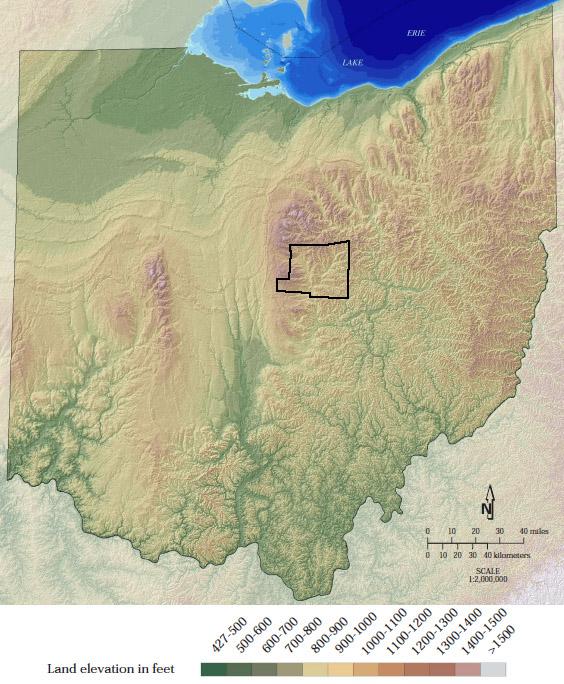 Moraine Ohio Map.Honey Run Waterfall Cunabulum