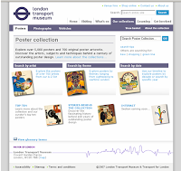 London Transport Museum website--Poster Collection online