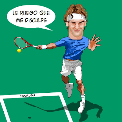 Dibujos de Roger Federer Federer