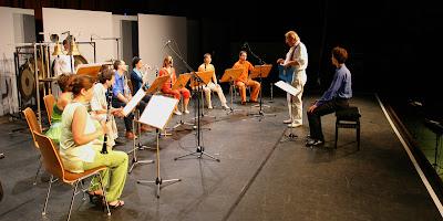 Karlheinz Stockhausen Jean-Francois Charles Dress Rehearsal