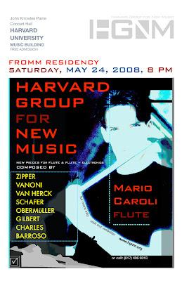 hgnm harvard group new music mario caroli jean-francois charles