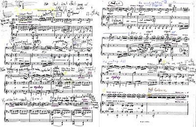 Debussy Sonata Cello Piano Annotated
