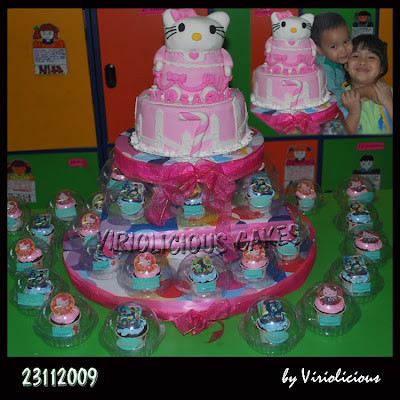 VIRIOLICIOUS CAKES: SASHA'S BIRTHDAY ON 2007 TILL 2009