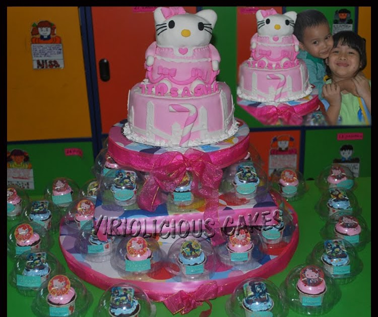 Hello Kitty Edible Cake Images