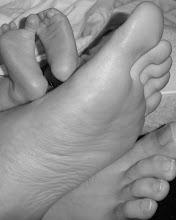 Precious feet