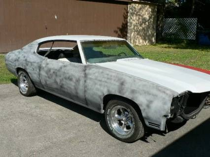 not just another rusty ride classic muscle car for sale 1970 chevelle malibu ss clone. Black Bedroom Furniture Sets. Home Design Ideas