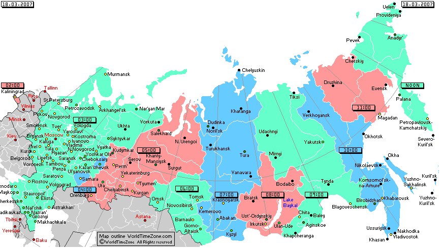 Russia changes time zones a moment please russia changes time zones gumiabroncs Images