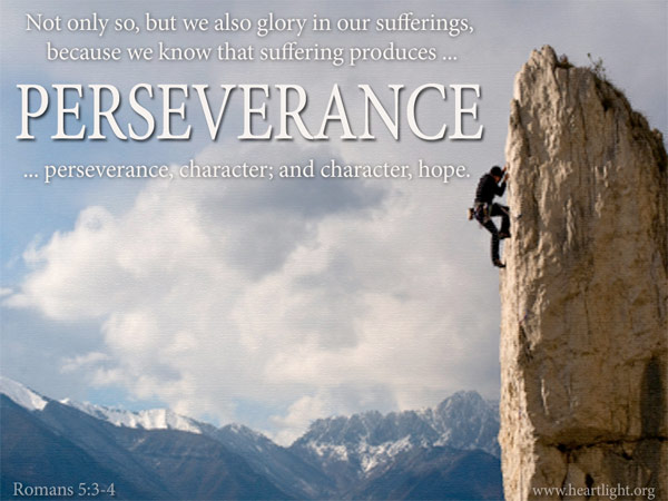 Perseverance - A Moment Please