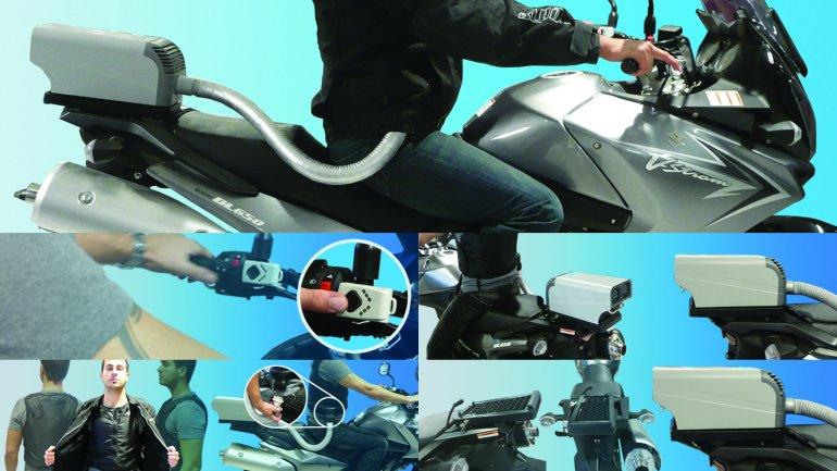 Motorcycles & Automotive: Motorcycle air conditioner
