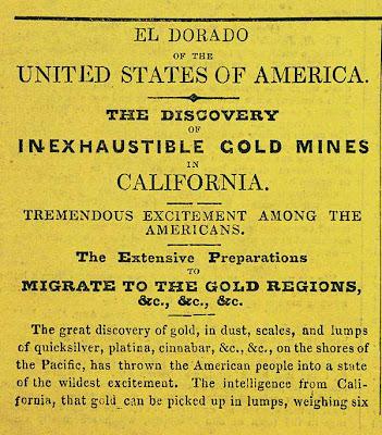 california gold rush map. california gold rush maps