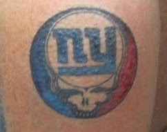 Grateful Dead Tattoos Grateful Dead Tattoo 103 New York Giants