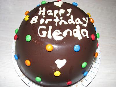Happy Birthday Glenda Cake