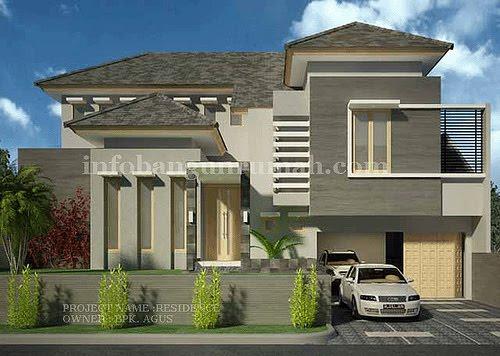 100 Desain Contoh Gambar Rumah Minimalis Lantai 2 Modern Model Terbaru