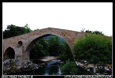 El Puente Romano de Cangas de Onís en Asturias