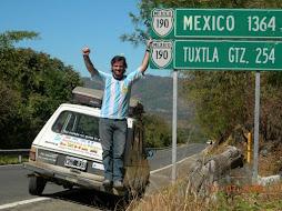 Llegada a mexico