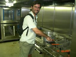En la cocina de la Fragata Libertad