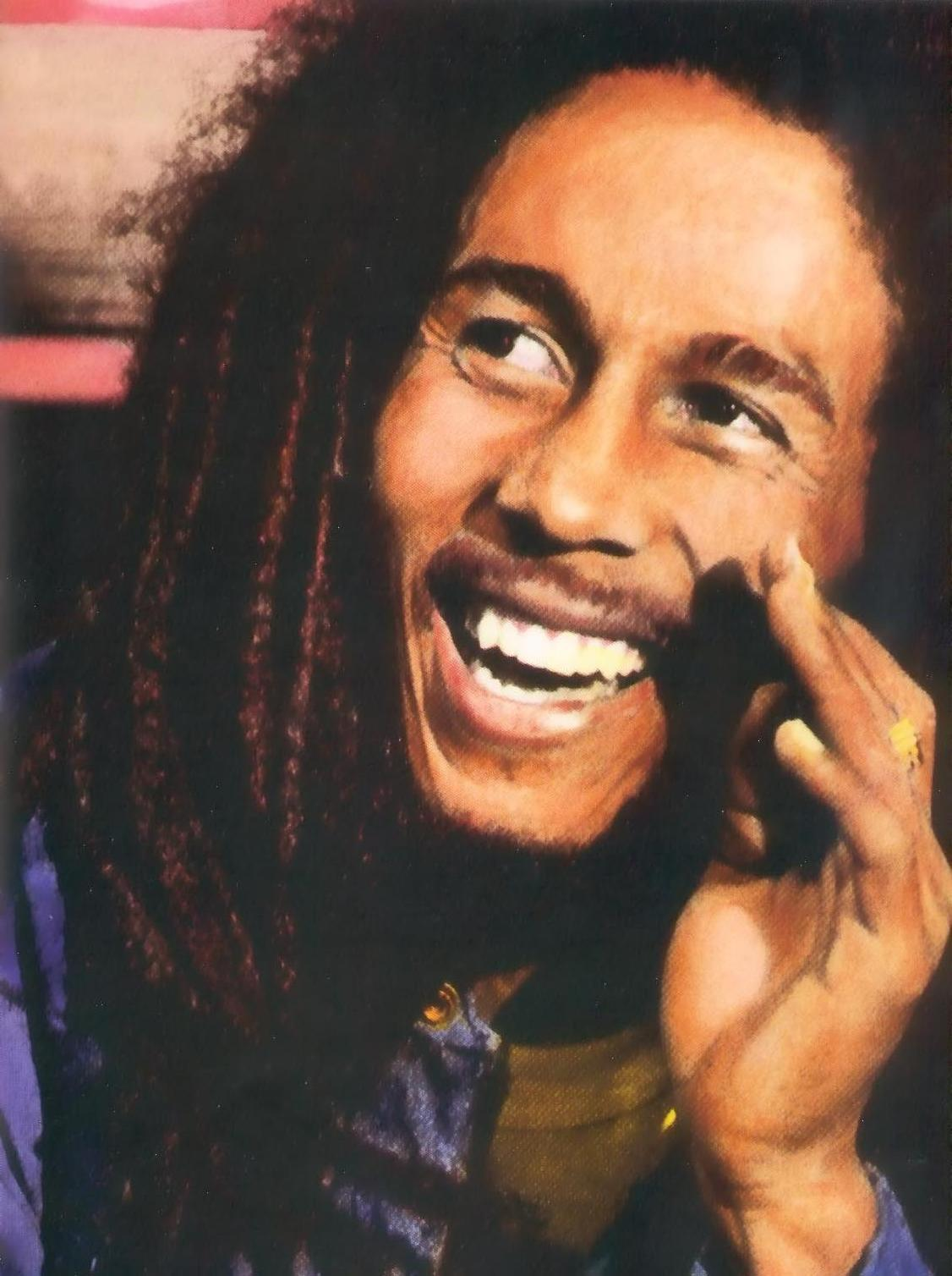 WORLD FAMOUS PEOPLE: Bob Marley