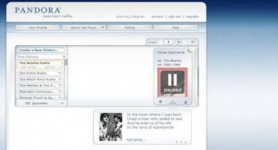 Pandora 560x312 10 Situs yang paling Berpengaruh Mengubah Kebiasaan Manusia
