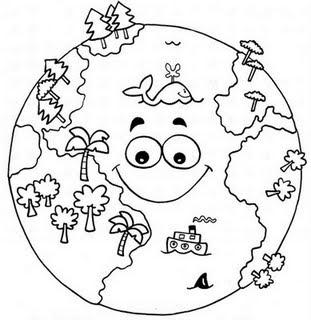 imagens do globo e planetas para imprimir e colorir fichas e