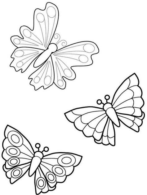 Disegno Farfalla Da Colorare Disegno Farfallina Da Colorare Con