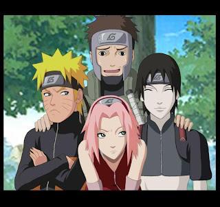 Naruto Sakura Sai Yamato