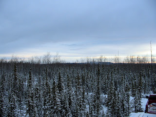 Off Grid In Alaska November 2010