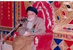 Moulana Dr.S M Yousha Faizi saheb Qibla
