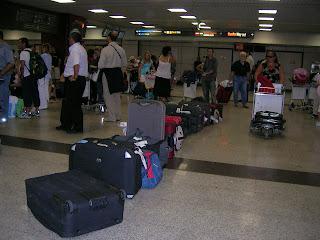 caos bagagli