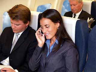 telefonare in aereo