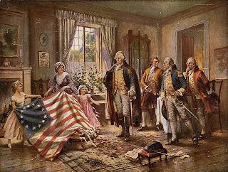 La prima bandiera americana fu interamente cucita a mano
