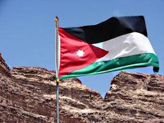 I colori della bandiera giordana