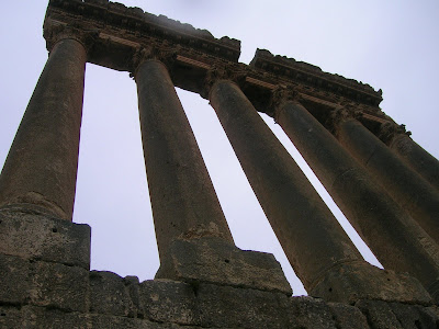 Colonne tempio Baalbek
