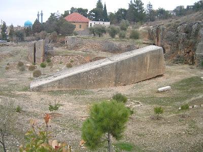la pietra più grande del mondo libano Baalbek