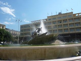 Catania, piazza Verga