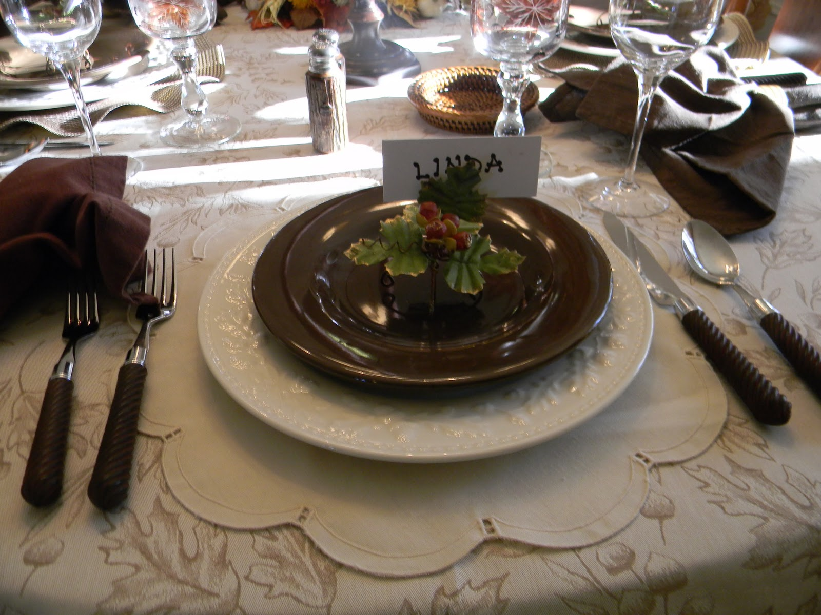 A Toile Tale Fall Pheasant Dinner Party